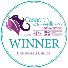 Canadian Spa & Wellness Awards 2016 - Winner